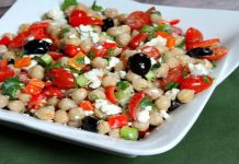 Delicious Chickpea Salad (Chana Chat)