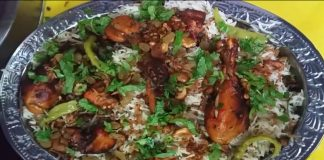 Delicious Arabian Chicken Kabsa