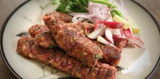 Popular Vegetable Seekh Kebab