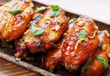 An easy recipe to make Restaurant Style Chili Garlic Wings at home