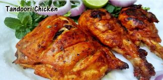 Tandoori Chicken without Oven & Microwave