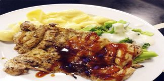 Chicken Steak with Tandoori Sauce