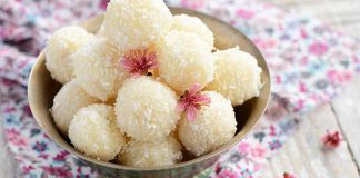 Delicious Coconut Laddu