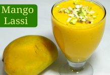 Summer Drink Mango Yogurt Smoothie