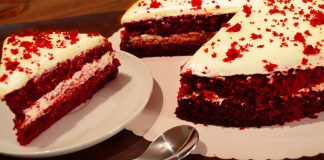 Red Velvet Cake without an Oven