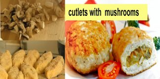 Potato Cutlets with Mushrooms