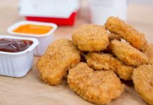 McDonalds' Yummy and Crispy Chicken Nuggets
