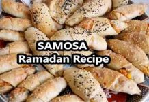 A unique recipe to make Crispy Afghani Samosa for Iftar Menu
