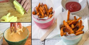 How to Make Coated Mayo-Garlic Crispy French Fries Recipe at home