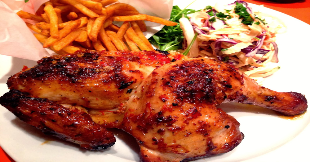 South African style Peri-Peri Chicken without an Oven in a pan