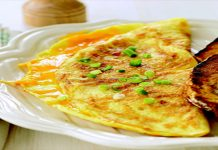 Delicious Cheese Omelette for Sehri
