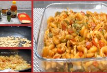 Amazing Recipe of Spicy Chicken Macaroni with Sriracha Sauce