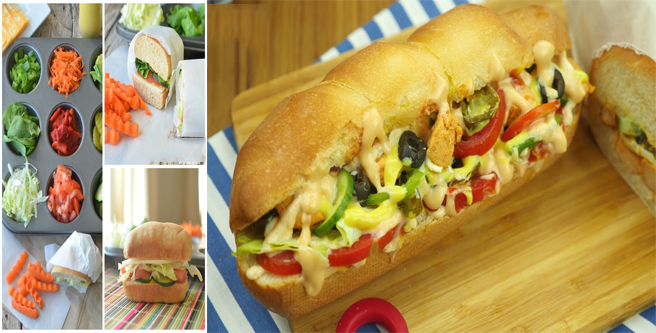 how to make subway tuna sandwich at home