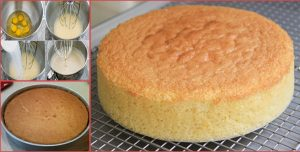 Super Soft Light Sponge Cake