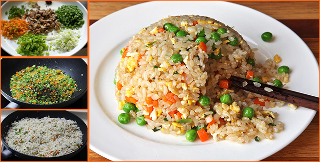 How to make tasty vegetable fried rice at home1212 latest recipes how to make tasty vegetable fried rice at home1212 ccuart Images