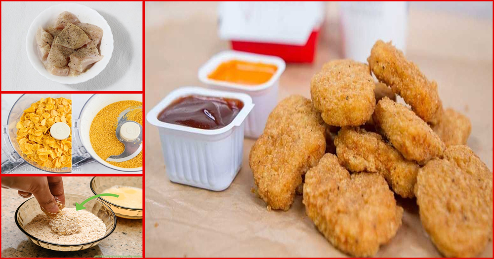 Amazing Delicious Restaurant Style Chicken Nuggets At Home