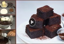 Amazing Soft Chocolate Brownies with Easy Recipe
