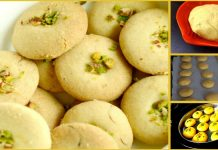 An Amazing recipe to make Delicious Besan Naankhatai without an oven Recipe