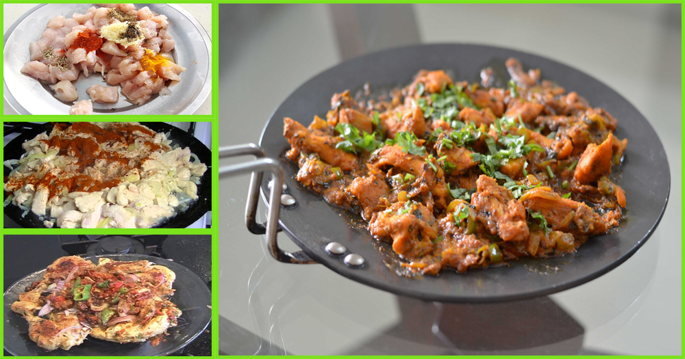 How To Make Delicious Tawa Chicken Fry With Simple Recipe