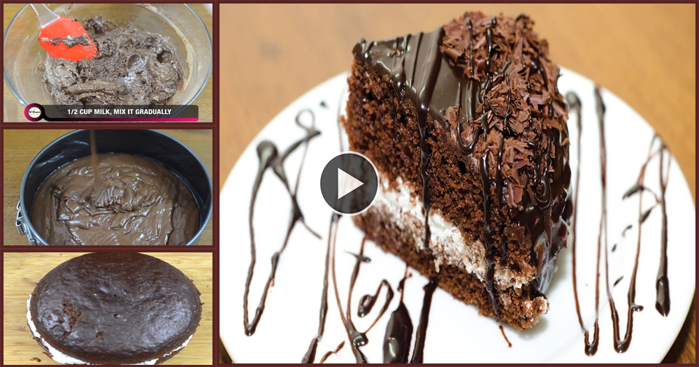 How To Make An Eggless Cake At Home Without Oven