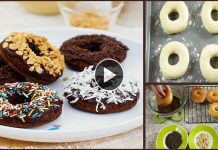 Simple Restaurant Style Chocolaty Doughnuts Recipe without Oven