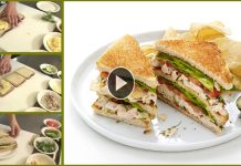 Tasty Chicken Club Sandwich with Simple Recipe