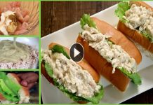 Tasty Chicken Mayo Rolls with Easy Recipe