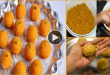 Traditional Motichoor Laddu Step By Step Recipe 232
