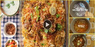 Spicy Beef Biryani with Step By Step Recipe