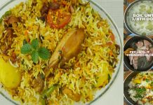 Homemade recipe to make Spicy Masala Bombay Biryani