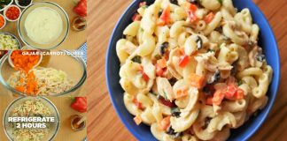 How to make Chicken Macaroni Salad at home with simple and easy recipe
