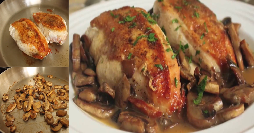 How to make Delicious Chicken Mushroom with simple recipe