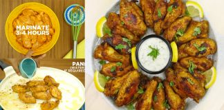 How to make Spicy Chicken Wings for appetizer at home