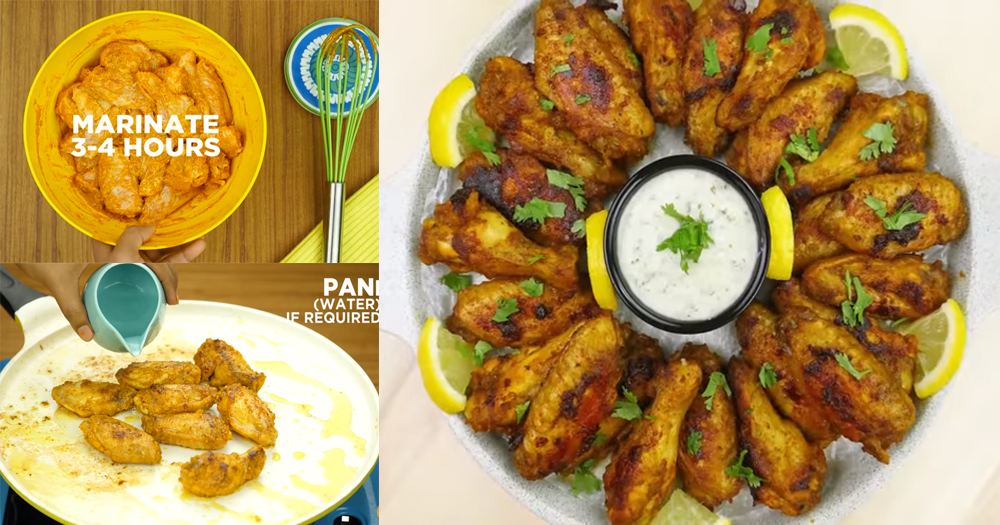 How to make spicy chicken wings for appetizer at home for Appetizers to make at home