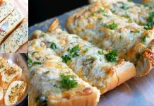 How to make Vegetables Cheesy Garlic Bread without an Oven