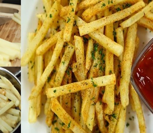 Today, I am going to share an easy and simple recipe with you to make Crispy French Fries at home with a unique and quick recipe ever.