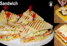 How to make Chicken Club Sandwich for kid's lunch box