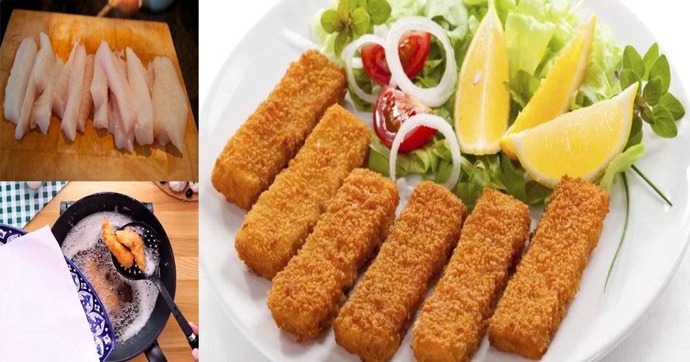 A quick recipe to make crispy finger fish at home for Food for fish at home