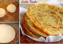An amazing Recipe to make Delicious Lachha paratha at home