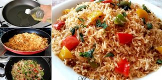An amazing way to make simple and easy Masala Rice