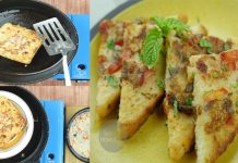 How to make Breakfast Special Masala Omelette French Toast