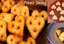How to make Heart Shape Diwali Special Heart Shape Potato Smiley