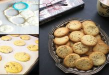 An EASY Recipe to make Cumin seed (zeera) Biscuits at home
