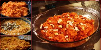 Delicious Winter Recipe to make Gajjar Halwa with Khoya