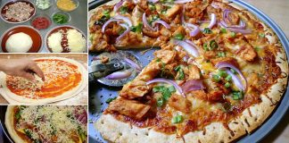 How to Make Delicious BBQ Chicken Pizza At Home