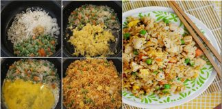 Quick to make delicious Chinese Fried Rice Restaurant Style