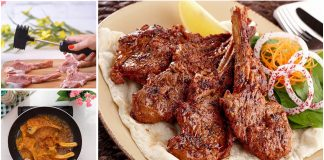 Easy and quick Pakistani fried mutton chops recipe at Home