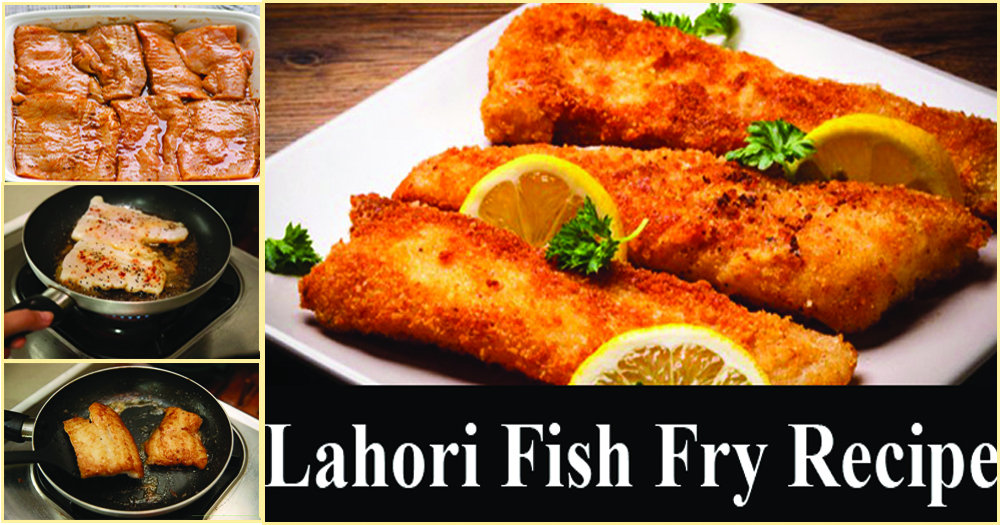 How to make crispy lahori fish fry recipe in restaurant style for How to make breaded fish