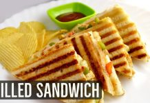 An Easy and Instant Grilled Cheese Sandwich Recipe
