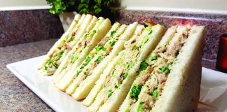 An Easy and Quick Recipe to make Veg Mayo Sandwich